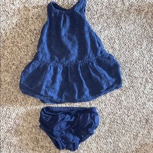 Baby Gap 3-6 months Dress/ tunic and bloomers
